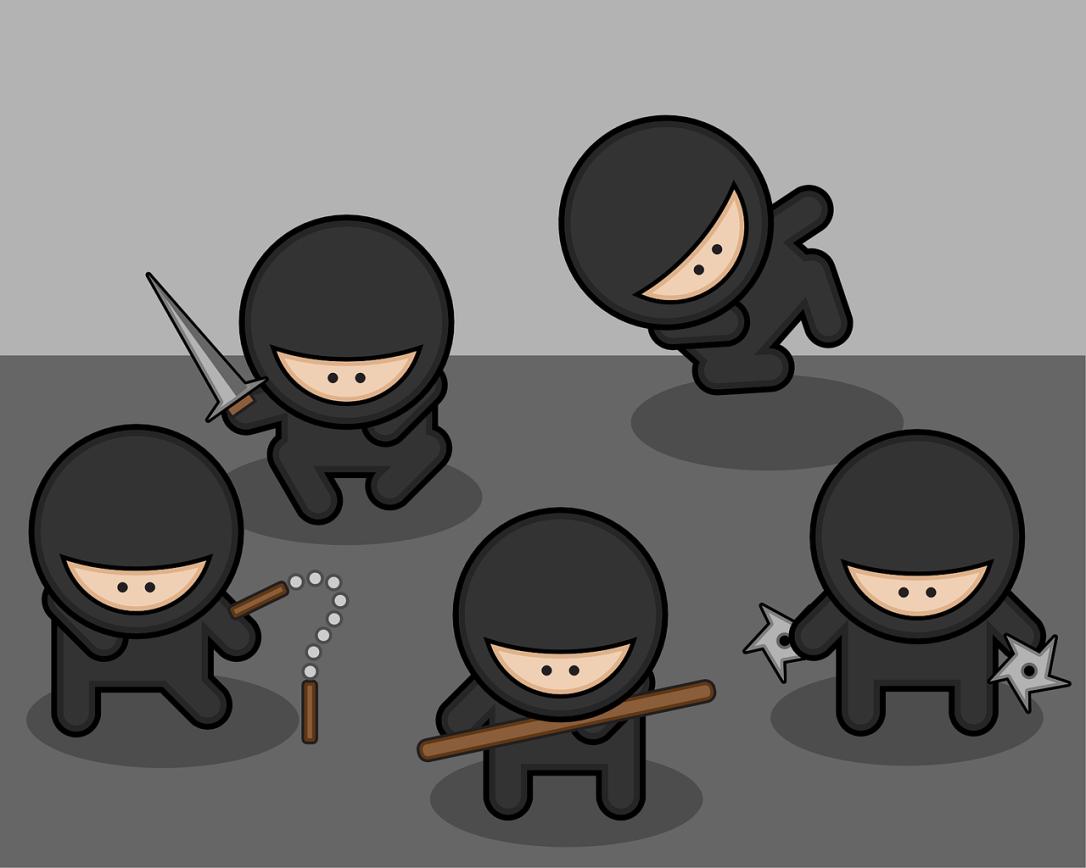 ninjas-37770_1280